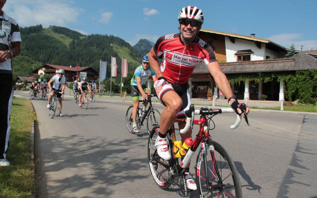 2018 ist Marcel Wüst bereits zum achten Mal beim  RAD-MARATHON Tannheimer Tal mit am Start