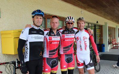 Ausfahrt mit Marcel Wüst, Gerrit Glomser und Christian Strebl