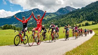 Rad-Marathon Tannheimer Tal Strecke 220 km